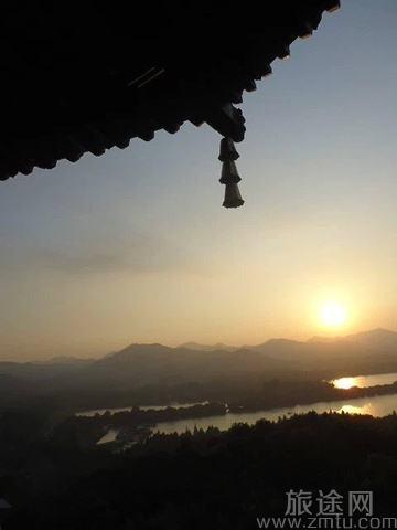 杭州西湖灵隐寺
