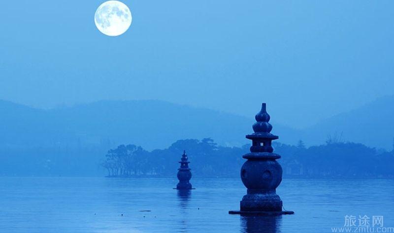 杭州三潭印月
