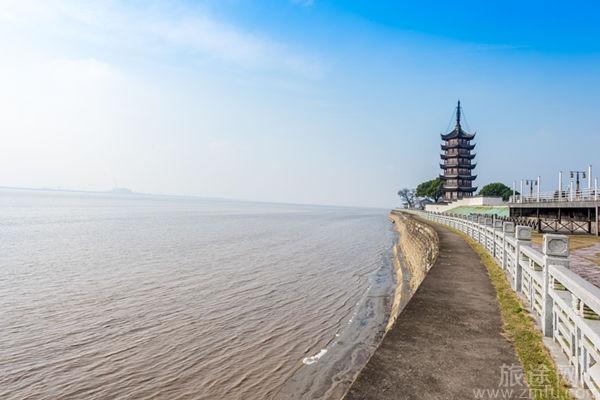 海宁盐官观潮景区