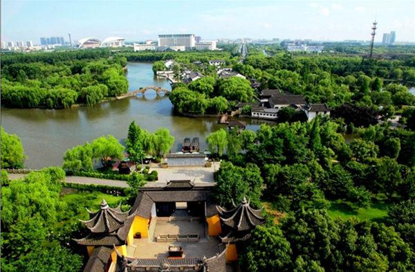 嘉兴南湖风景区