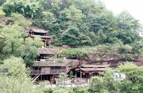 龙游三叠岩风景区