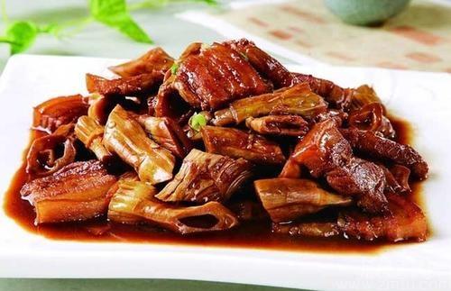 舌尖上的安吉美食:笋干烧肉